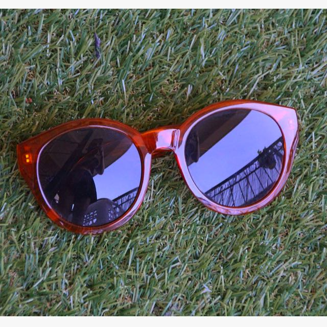 Orange Rim Sunglasses