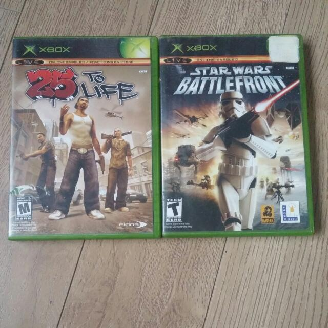 Original Xbox Games (5$)
