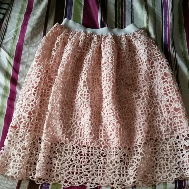 Pink NUDE skirt
