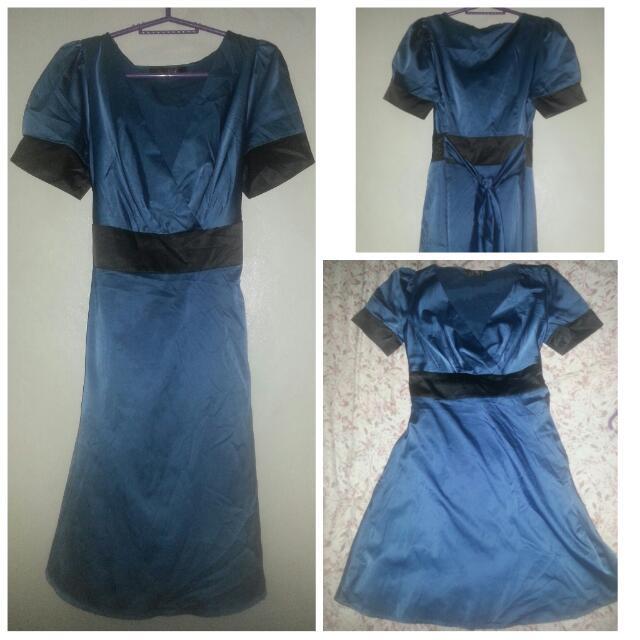 Preloved Silk Dress..