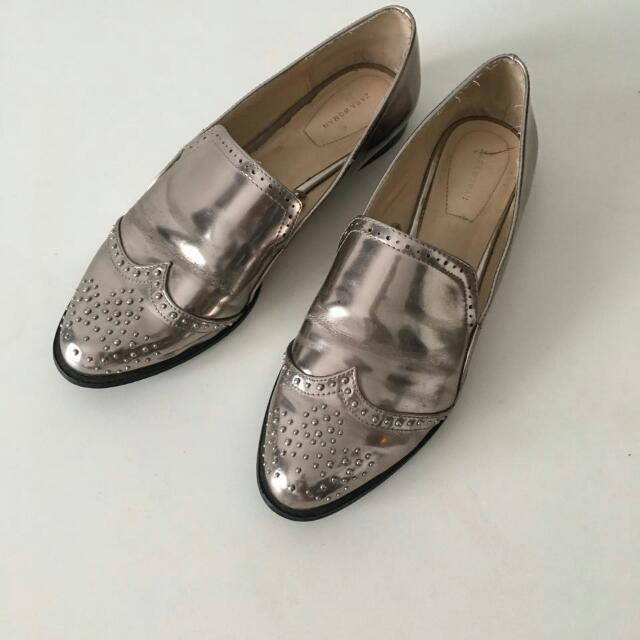 Reprice - Preloved Zara Woman Oxford Shoes b1e5b2a70c