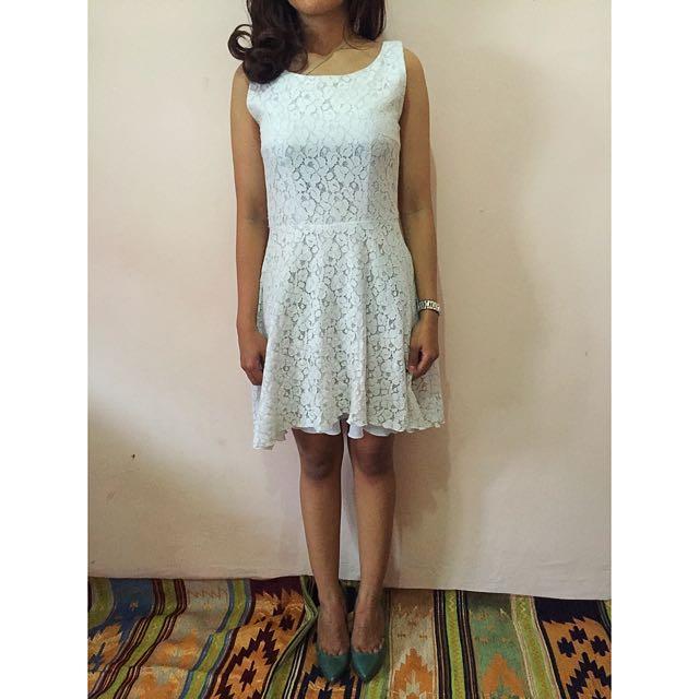 Privatecollectionbybenita Dress, White. Size S