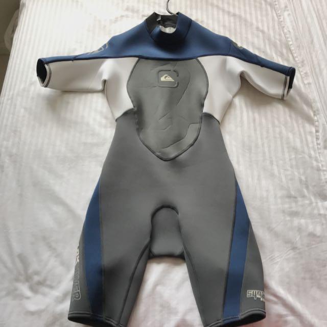 Quicksilver Kids Wetsuit 2mm Short Sleeve Spring Suit