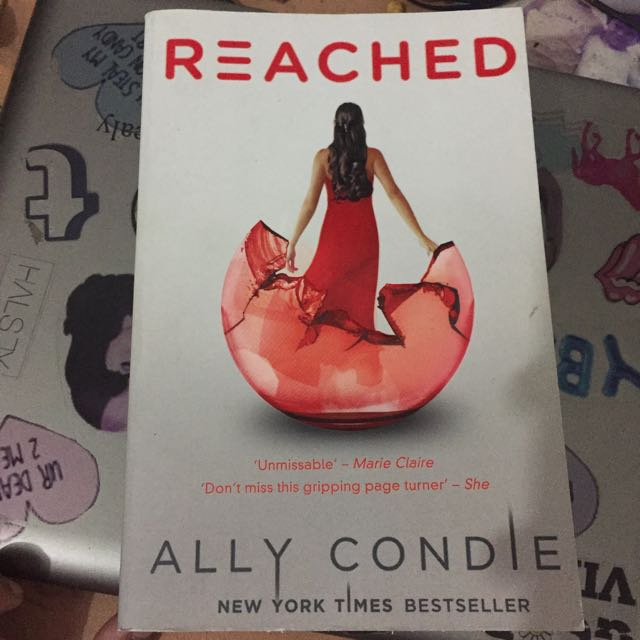 REACHED novel by Ally Condie