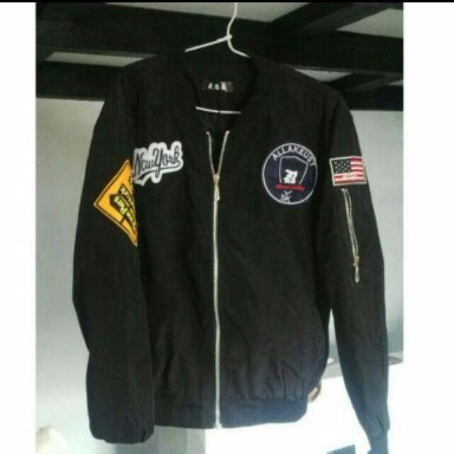 reprice jaket bomber wanita