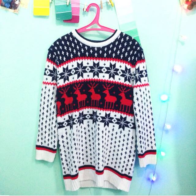 REPRICED! Knitted Christmas Sweater