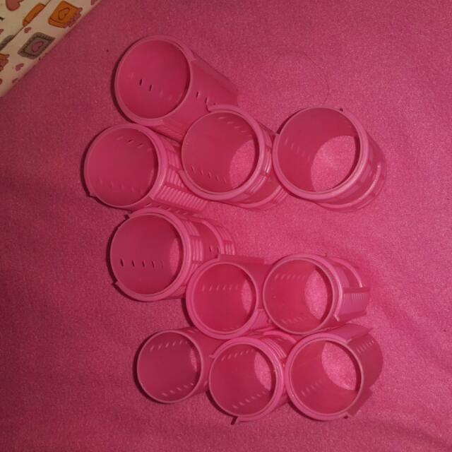 Roll Rambut Lucu Pink