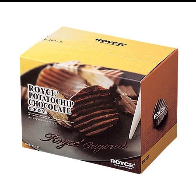 日本零食必買伴手禮Royce巧克力洋芋片