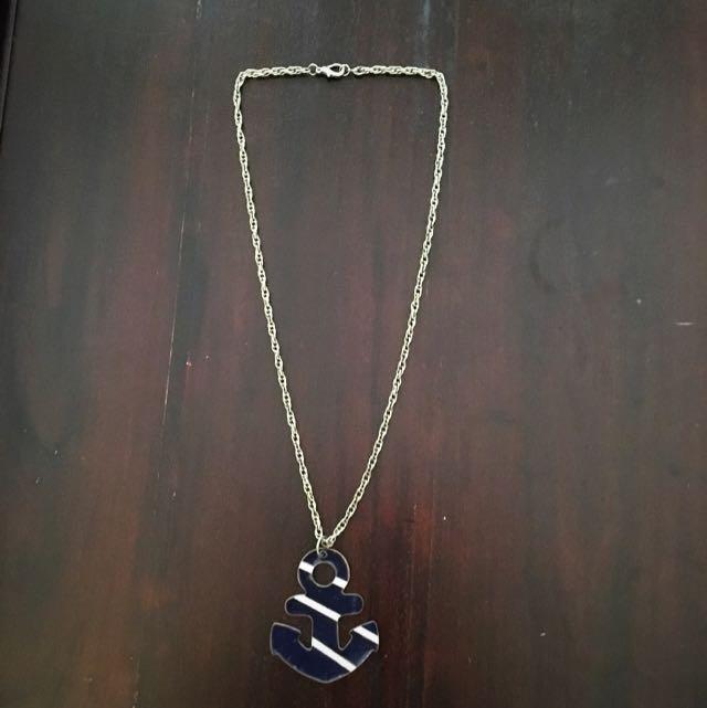 Sailor Anchor Long Necklace