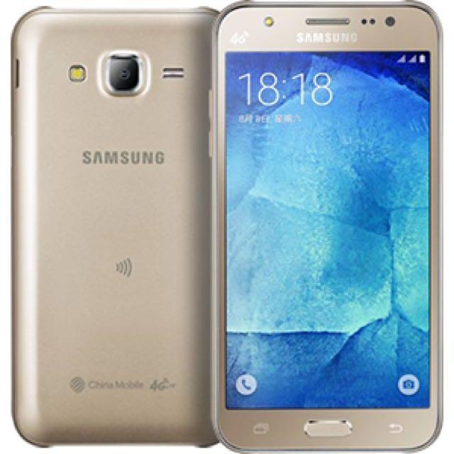 Samsung Galaxy J5 金色