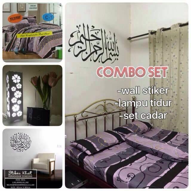 Set Bedroom 3 In1 Bilik Tidur