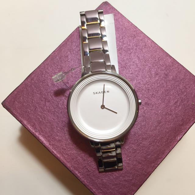 Skagen Ditte Stainless Steel Ladies Watch