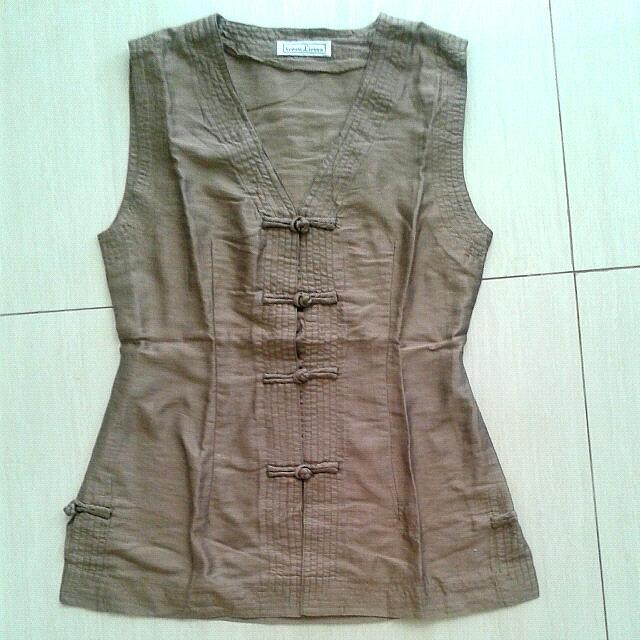 Thai silk top