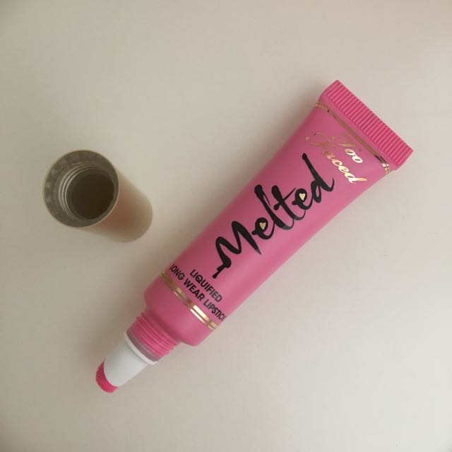 AUTHENTIC Too Faced Melted liquified lipstick💄