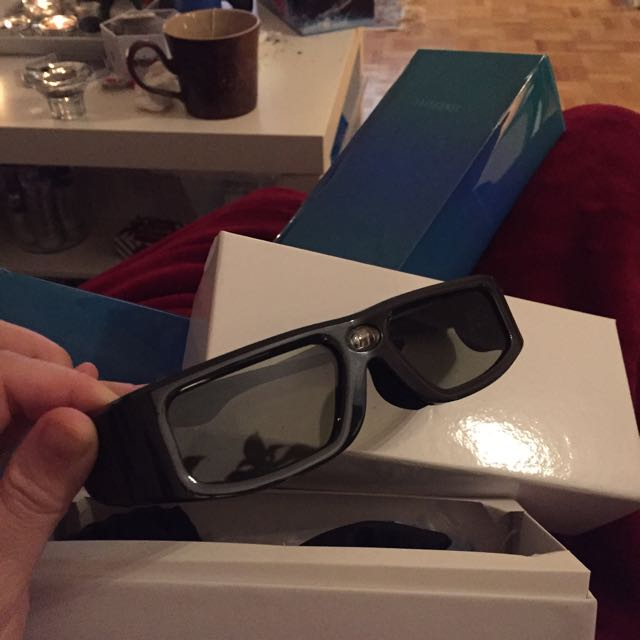 Two Pair Of Sainsonic 3D Glasses