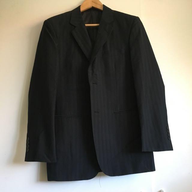 Two Piece Ponti Suit