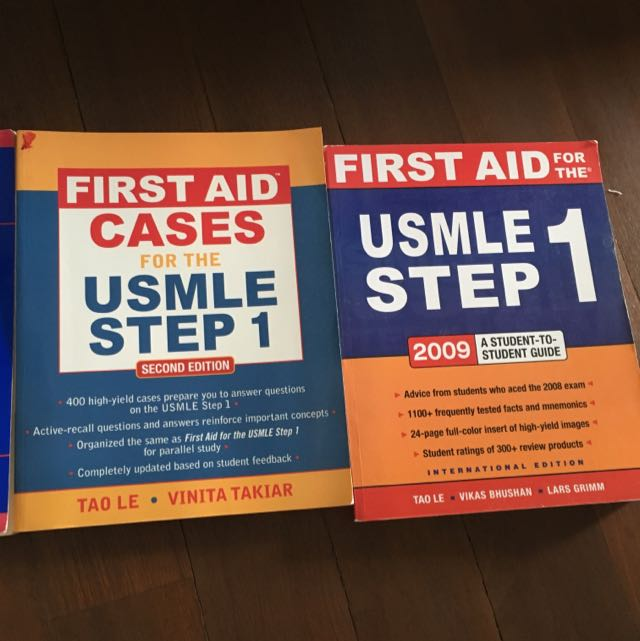 USMLE step 1 Textbooks