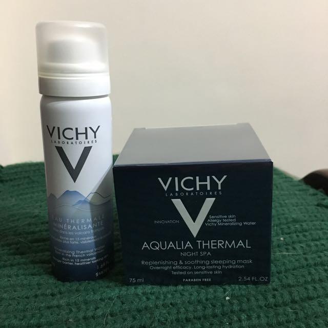 Vichy 午夜奇蹟spa水面膜