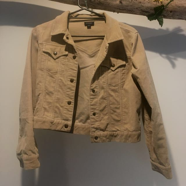 Vintage Witchery Cord Jacket