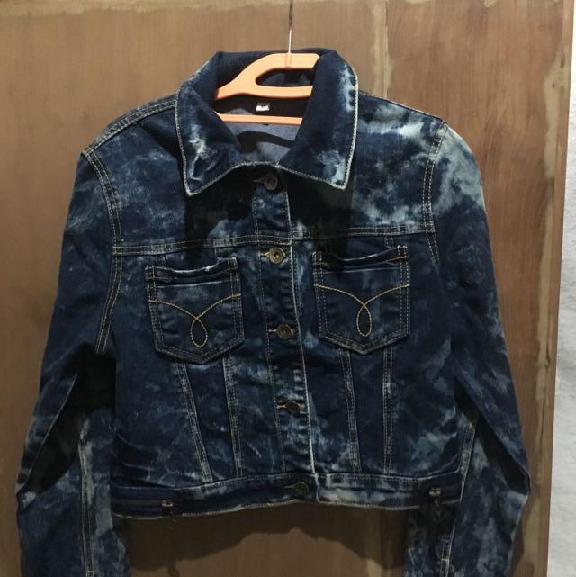 Washed Crop Jacket