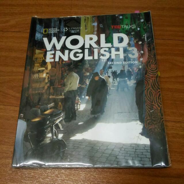 World English 3 #我有課本要賣