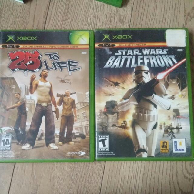 Xbox Original, 360, And One Games