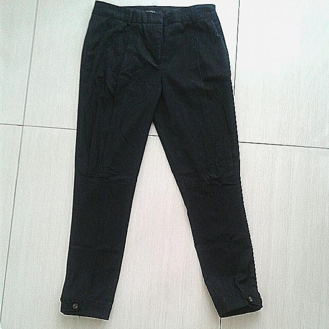 Zara Basic black pant