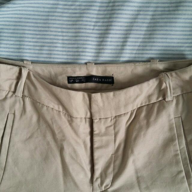 Zara Trousers (NUDE)