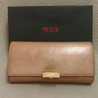 TUMI Continental Flap Double Wallet Women - Authentic
