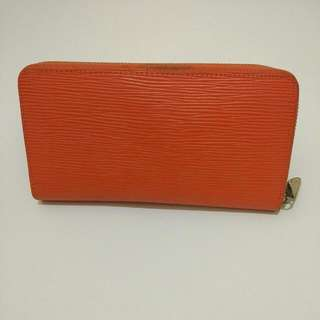 Dompet LV Orange Replika Kw Semi Premium