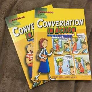 看漫畫學英文(對話)購於新加坡