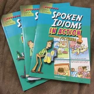 看漫畫學英文(口說慣用語)購於新加坡