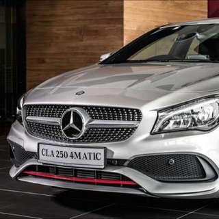 Mercedes-Benz CLA250 Facelift