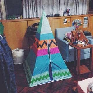 購於日本 兒童 帳篷 民俗民族 家飾