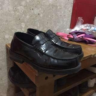 樂福鞋 雷根鞋 亮亮真牛皮 增高 小皮鞋