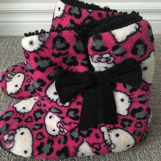 Hello Kitty Printed Booties