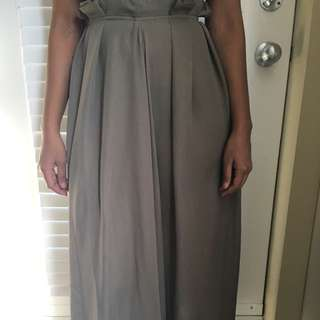 Light Green Long Skirt Size 2-4