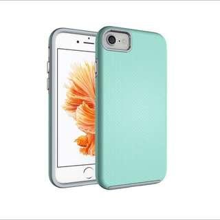 iPhone 7 Case Hybrid Shock Modern Slim Non-slip Grip Cell Phone Case for Apple iPhone 7 - Mint Green