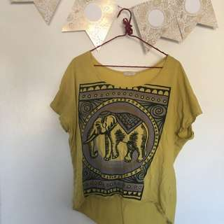 Elephant Loose Shirt From UO