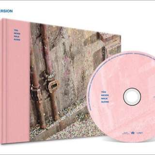 BTS YNWA You Never Walk Alone Pink Version