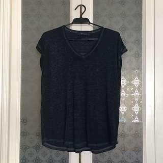 Decjuba - Charcoal Burnout Tshirt