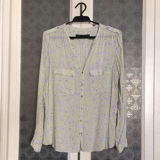 Zara Basics - Casual Button-up Top