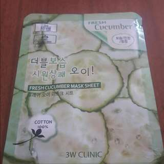 Fresh Cucumber Mask Sheet