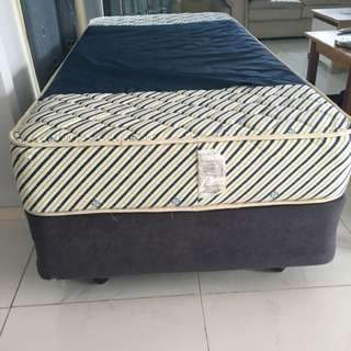 Single Bed With Base