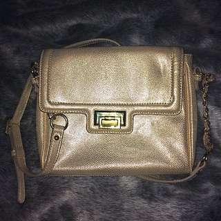 Nine West Pale Gold Handbag