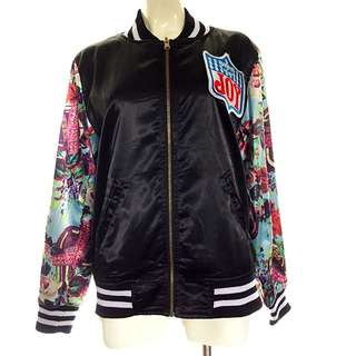 Korean Style 2-sided Baseball Jacket Size 8/10