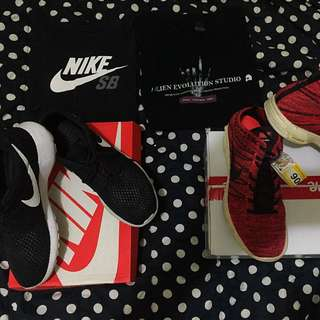 Nike慢跑鞋短袖