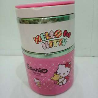 Hello Kitty 2 Tier Food Jar