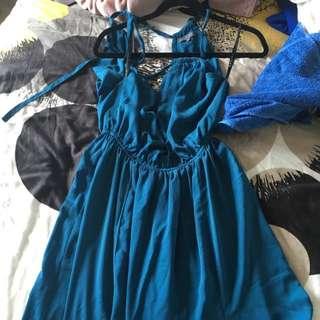 Sheike Maxi Dress - Teal - Size 6
