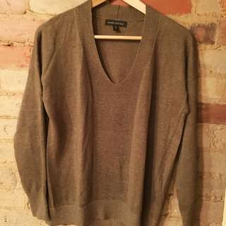 Banana Republic Olive Green Lightweight Sweater